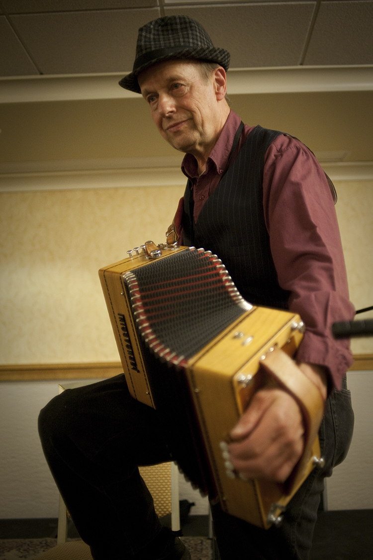 Rich with accordion